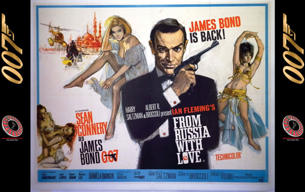 From Russia with Love - 10' Backdrop
